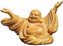 JIAChaoYi Cinese Gioia Laughing Buddha Scultura