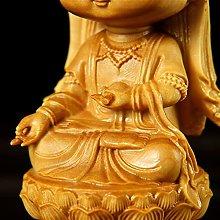JIAChaoYi Guanyin Dea della Misericordia Seduta su