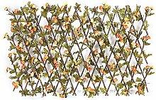 JIAFENG Copertura Legno Artificiale con Due Colori