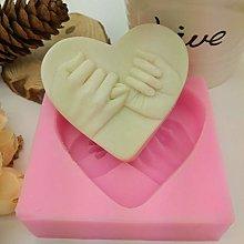JIANCHEN Stampo per Torta Cuore Amore 3D Sapone in