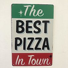 jiayouernv Pizza BBQ Fast Food Ristorante Vintage