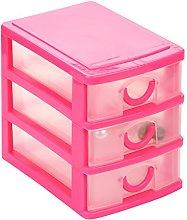 JIJK - Scatola da scrivania con cassetti multipli