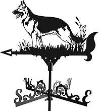 JJDSN Indicatore segnavento per Cani da Tetto per