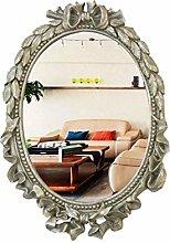 JJZI-L Specchio da Bagno A Muro, Ovale retrò