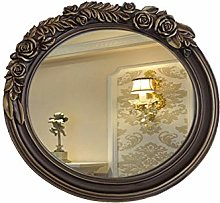 JJZI-L Specchio da Bagno retrò, Scultura Rose