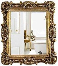 JJZI-L Specchio da Bagno Rettangolare, retrò A