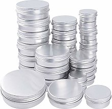 JNCH 30pz Vasetti Vuoti in Alluminio Lattine Vasi