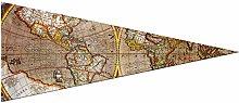 JOCHUAN Grande Bandiera Decorativa Antica Mappa