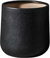 Jren-zk Vasi di Fiori Coperta, Nero Ceramica Vaso