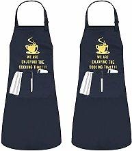 JSDing Grembiule Cucina Personalizzato Chef