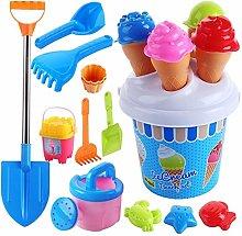 JSJJAQA Stampo in Silicone Beach Toys Set Gelato e