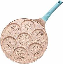 JSJJAQA Stampo in Silicone Sette buche Colazione