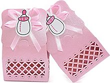 JSJJAWA Pacco Regalo 12pcs Doccia Candy Box Pink