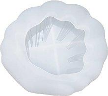 JSJJAWA Pacco Regalo Shell Leaf Plate Resina