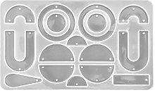 JumpXL - Stampi in resina, geometrici, orecchini