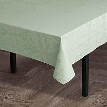 Juna, Easter Damask Tablecloth Light Green 150X220