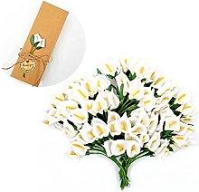 JZK 144 Piccolo bouquet calla finta bianco fiore