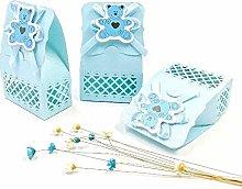 JZK 24 Blu Busta Confetti Carta bustina Azzurre