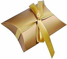 JZK 50 Oro scatola portaconfetti scatolina