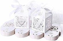 JZK 50 Perlato Bianco Cuore scatolina