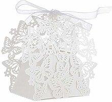 JZK 50 Perlato Bianco Farfalla scatolina