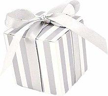 JZK 50 Striscia bianco argento scatola