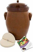 K&K Keramik Forme II - Tegame per fermentazione,