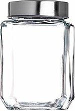 KADAX Barattolo in vetro con coperchio in
