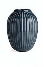 Kähler Hammershoi Vaso, Porcellana, Antracite,