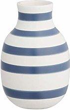 Kähler, vaso Omaggio, Porcellana, Blu, 12,5 cm