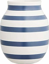 Kähler, vaso Omaggio, Porcellana, Blu, 20 cm