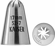 Kaiser 2300662527 Stampo Ugello Grande Rosetta in