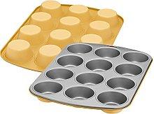 KAISER Happy Colors 2300670829 - Teglia da forno