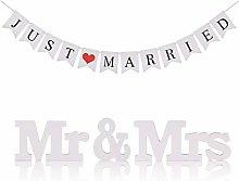 KAKOO Mr & Mrs, lettere per matrimonio,