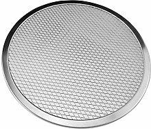 Kalaokei - Teglia per pizza rotonda, in alluminio,
