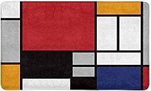 Kanaite Astratto Geometrico colorato Mondrian