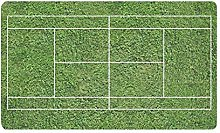 Kanaite Zerbino Divertente Campo da Tennis Verde
