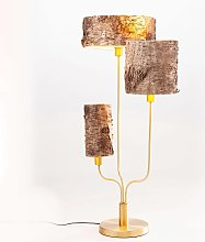 KARE Corteccia da tavolo con corteccia di betulla