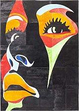 Kare Design Tappeto Beauty Pop, Multicolore,