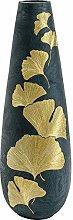 KARE Elegance Ginkgo - Vaso in poliresina, 95 cm,
