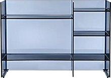 Kartell, Sound-Rack, Mobile Contenitore, Blu, 26 x