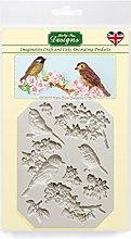 Katy Sue Designs Stampo in silicone con fiori e