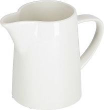 Kave Home - Bricco per latte Pierina in porcellana