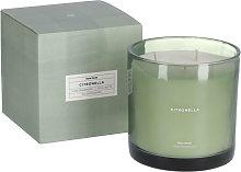 Kave Home - Candela profumata Citronella verde 750