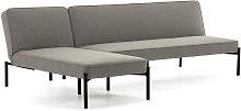 Kave Home - Divano letto e chaise longue Nelki