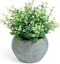 Kave Home - Eucaliptus artificiale in un vaso