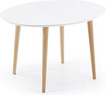 Kave Home - Oqui tavolo allungabile ovale 120
