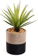 Kave Home - Piccola Palma artificiale in vaso da