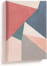 Kave Home - Quadro Kyrene 28 x 35 cm triangolo