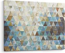 Kave Home - Quadro Udo dúnya 100 x 80 cm
